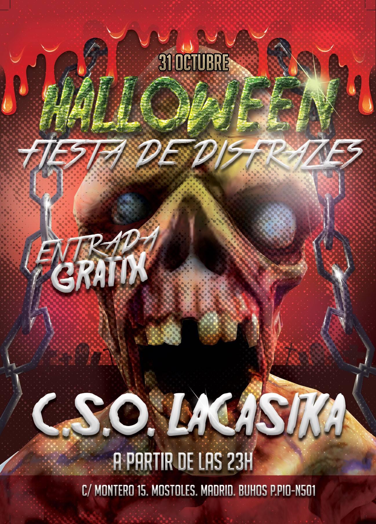 Fiesta de disfrazes - jueves 31 octubre 2013 halloween en laCasika Mostoles