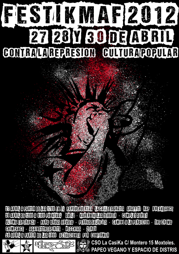 festikmaf 2012 Mostoles 27, 28, 30 abril 2012